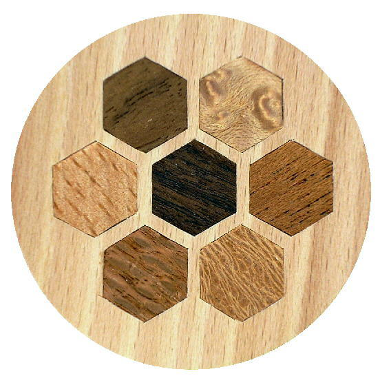 Hexagons inlay