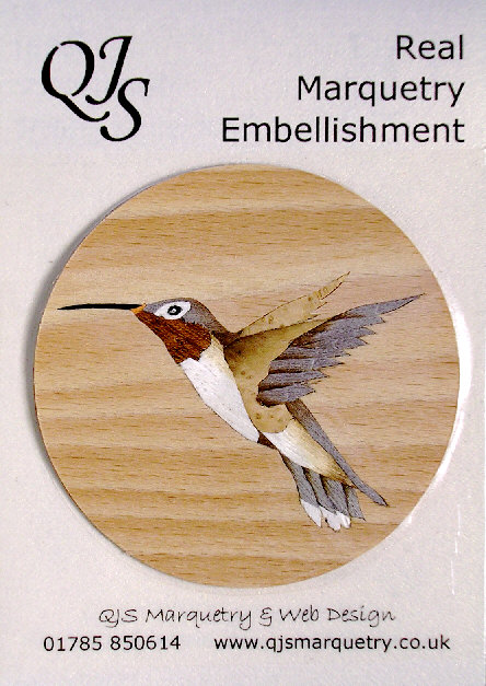 Hummingbird inlay
