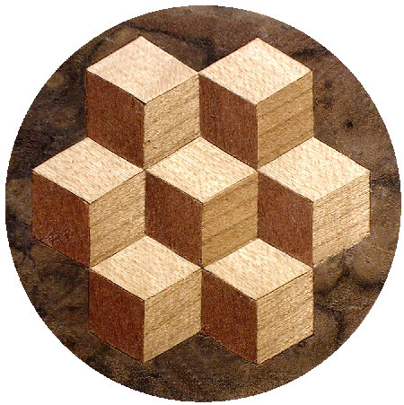 Louis Cube inlay