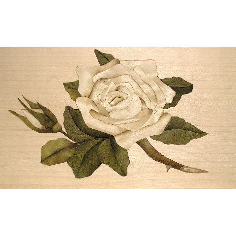 rose inlay