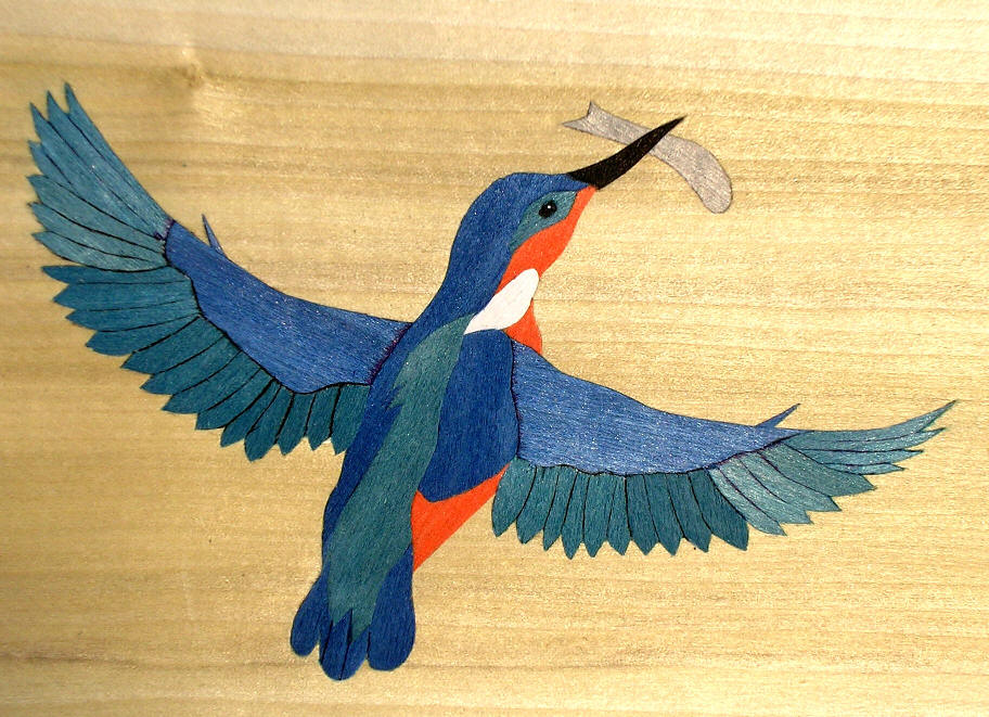 kingfisher design