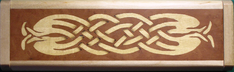 Celtic pen box